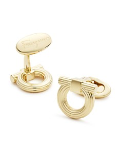 Salvatore Ferragamo - Single Gancini Cufflinks