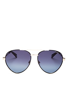 Polaroid - Men's Polarized Aviator Sunglasses, 56mm