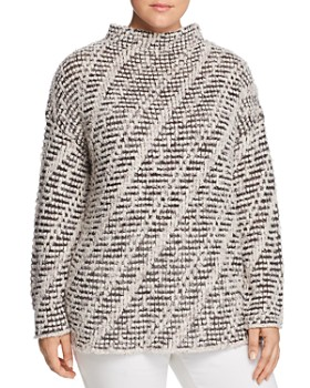 NIC and ZOE Plus - Funnel-Neck Sweater