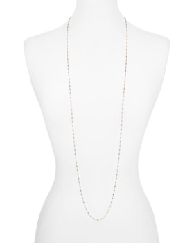 Officina Bernardi - Moon Bead Chain Necklace, 48""