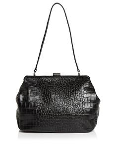 Steven Alan - Zander Medium Croc-Embossed Leather Satchel