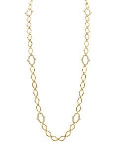 """Gumuchian - 18K Yellow Gold Secret Garden Diamond Convertible Necklace, 35"""""""
