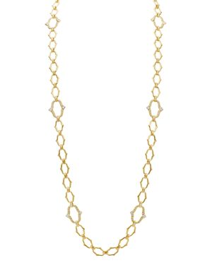 GUMUCHIAN 18K Yellow Gold Secret Garden Diamond Convertible Necklace, 35 in White/Gold