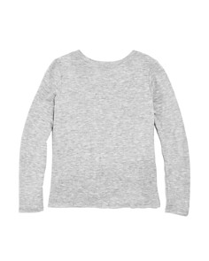 AQUA - Girls' Side-Knot Long Sleeve Top, Big Kid - 100% Exclusive