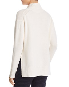 Majestic Filatures - Cashmere Oversized Mock-Neck Sweater