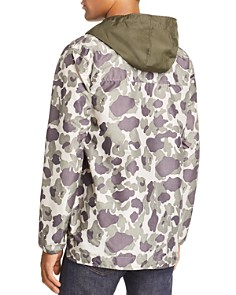 Herschel Supply Co. - Camouflage Color-Block Anorak Jacket