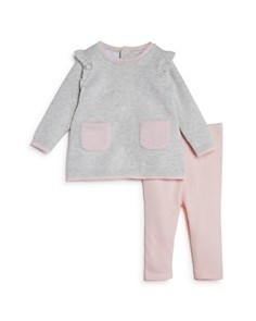 Bloomie's - Girls' Knit Tunic & Leggings Set, Baby - 100% Exclusive