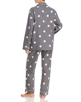 PJ Salvage - Starry-Eyed Flannel Cotton Pajama Set - 100% Exclusive