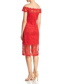 Tadashi Shoji - Illusion Lace Dress