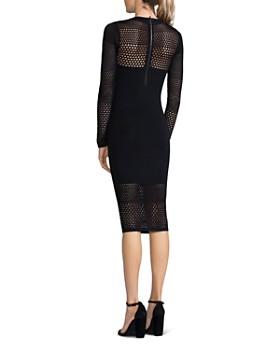 Bailey 44 - Decoy Open-Knit Detail Sweater Dress