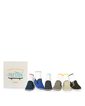 Trumpette - Boys' Preston Skater Sneakers Print Socks, Set of 6 - Baby