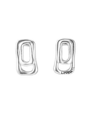 UNO DE 50 Uno De 50 Trapped Tiered Drop Earrings in Silver