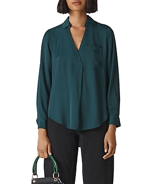 Whistles Ella Pocket Shirt