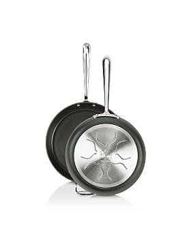 "All-Clad - Hard Anodized Nonstick 10"" & 12"" Fry Pan Set"