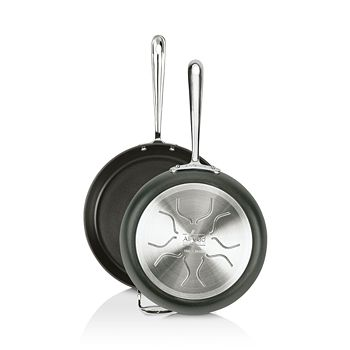 """All-Clad - Hard Anodized Nonstick 10"""" & 12"""" Fry Pan Set"""