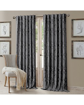 Elrene Home Fashions - Darla Geometric Blackout Curtain Collection