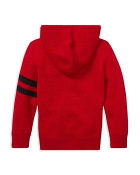 Ralph Lauren - Boys' Merino Big Pony Hooded Sweater - Little Kid