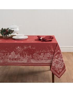 "Benson Mills - Christmas Story Jacquard Tablecloth, 60"" x 84"""