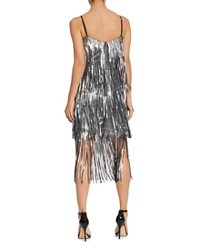 Dress the Population - Roxy Sequined Flapper Dress