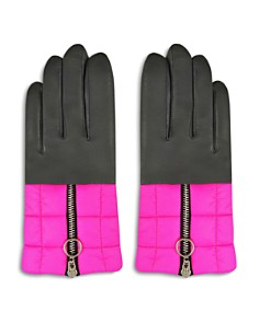 ARISTIDES - Puffer Detail Gloves