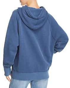 rag & bone/JEAN -  Racer Lips Hooded Sweatshirt