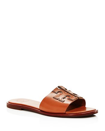 Tory Burch - Women's Ines Leather Slide Sandals