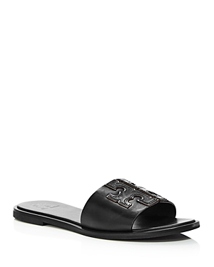 Tory Burch Women's Ines Leather Slide Sandals