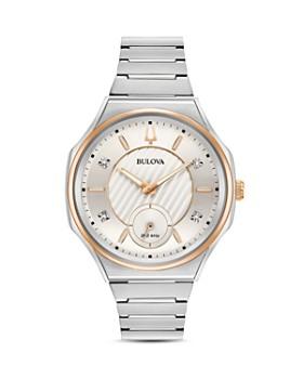 Bulova - Curv Diamond Index Watch, 44.5mm
