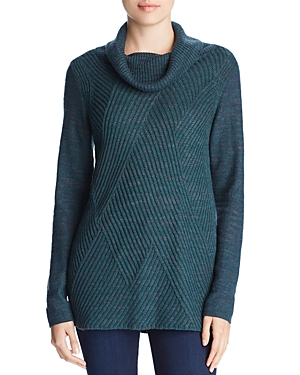 Nic+Zoe North Star Cowl-Neck Sweater