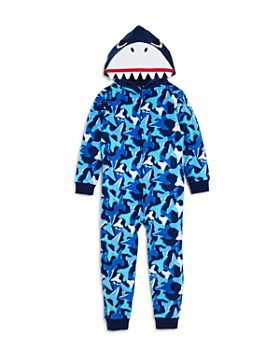 Dream Life - Boys' Fleece Shark Romper - Little Kid, Big Kid