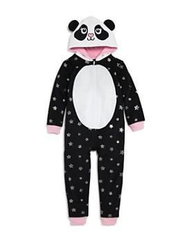 Dream Life - Girls' Fleece Panda Romper - Little Kid, Big Kid