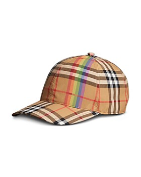 879c6122ea008 Burberry - Rainbow Vintage Check Baseball Cap ...