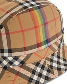 Burberry - Rainbow Check Bucket Hat