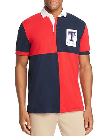 61cd6fc2bb3 Tommy Hilfiger Color Block Rugby Polo Shirt Bloomingdale S