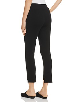 Eileen Fisher Petites - Cropped Step-Hem Pants - 100% Exclusive