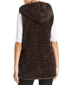Capote - Faux-Fur Hooded Vest