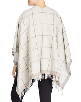 Eileen Fisher Plus - Check Print Serape