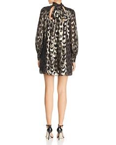 MILLY - Sherie Metallic-Print Mini Dress