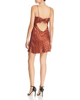 Bec & Bridge - Wild Cat Silk Mini Dress