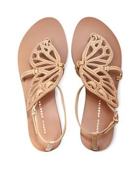 Sophia Webster - Women's Bibi Butterfly Open Toe Studded Leather Sandals