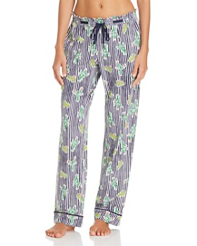 Jane & Bleecker New York - Printed Long Pajama Pants