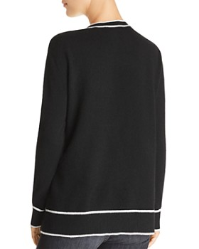 C by Bloomingdale's - Tipped Cashmere Sweater - 100% Exclusive