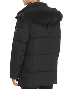 KARL LAGERFELD Paris - Faux Fur-Trimmed Puffer Coat