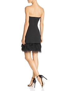 Lucy Paris - Embellished Strapless Dress