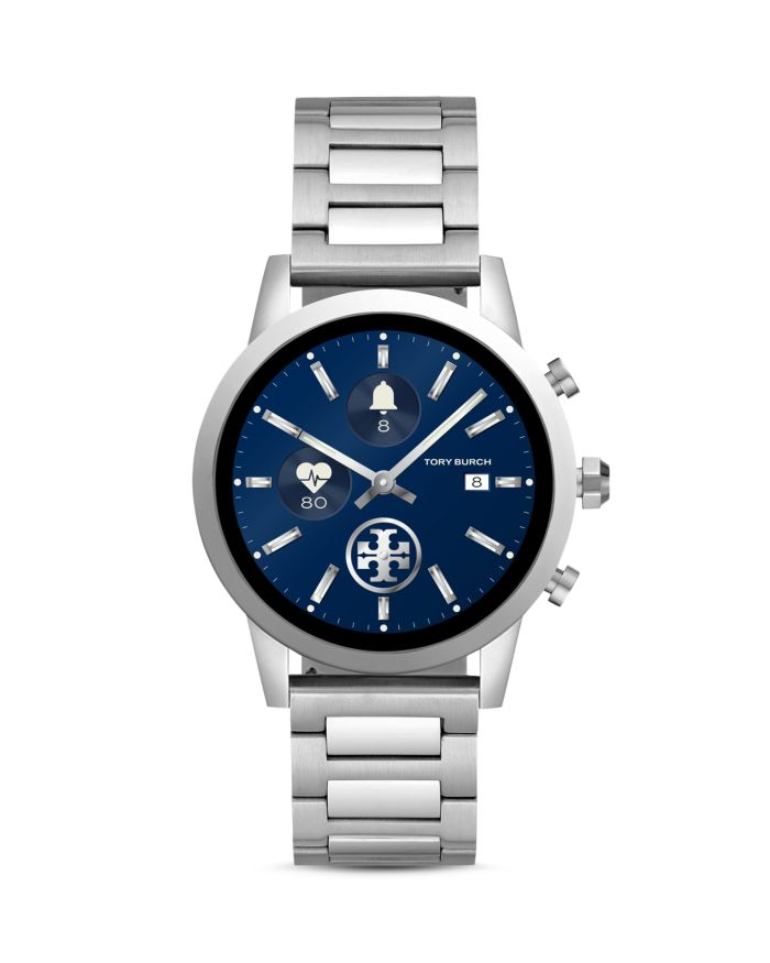 Tory Burch The Gigi Stainless Steel Touchscreen Smartwatch, 40mm  | Bloomingdale's