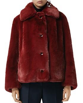 Burberry - Alnswick Faux-Fur Coat