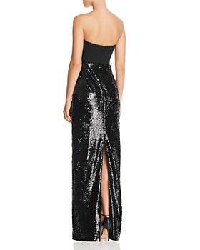 Aidan by Aidan Mattox - Strapless Sequined Gown - 100% Exclusive