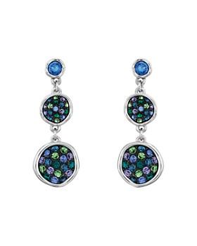 ADORE - Pavé Crystal Double Drop Earrings