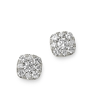 Bloomingdale's Diamond Small Cluster Stud Earrings in 14K White Gold, 0.33 ct. t.w. - 100% Exclusive