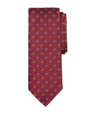 Brooks Brothers Two-Tone Floral Silk Classic Tie